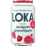 Loka Jordgubb/granatäpple Loka 33cl