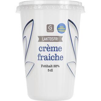 Crème Fraîche Laktosfri 32% 5dl Garant