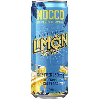 Limon Energidryck Burk Summer Edition 33cl Nocco
