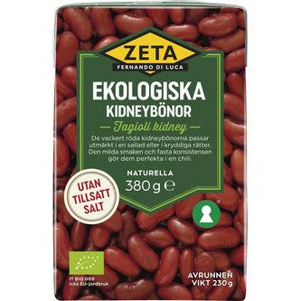 Kidneybönor Ekologiska 380/230g Zeta