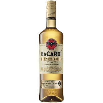 Bacardi Carta Oro Sprit 40% 70cl Bacardi