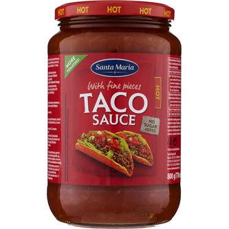 Taco Sauce Hot 800g Santa Maria