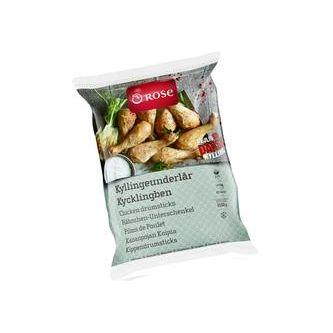 Kyckling Underlår&drumsticks Frysta 2.5kg Rose Poultry