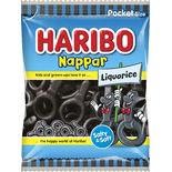 Nappar Liquorice Haribo 80g