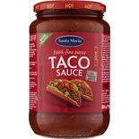 Taco Sauce Hot Santa Maria 800g