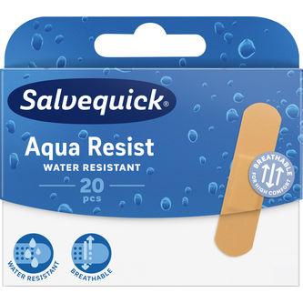 Aqua Resist Water Resistent Plåster 20st Salvequick