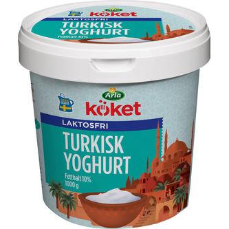 Turkisk 10% Laktosfri Yoghurt 1kg Arla Köket