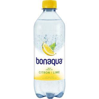 Citron/lime Kolsyrat Vatten Pet 50cl Bonaqua Silver