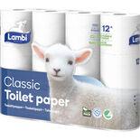 Classic Soft&strong Toalettpapper Lambi 12st
