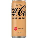 Coca-cola Zero Vanilla Burk Coca-cola Zero 33cl