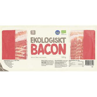 Bacon Skivat 120g Garant Eko