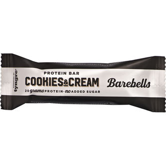 Protein Bar Cookies And Cream 55g Barebells