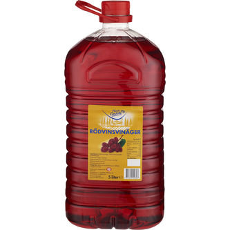Rödvinsvinäger 5l Monte Castello