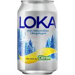 Citron Kolsyrat Vatten Burk Loka 33cl