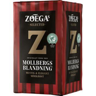 Mollbergs Mörkrost Bryggkaffe 450g Zoégas