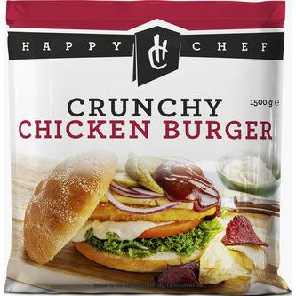 Chicken Crispy Burger Fryst 1,5kg Happy Chef