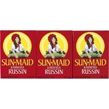 Russin 6-pack Sun-maid 255g