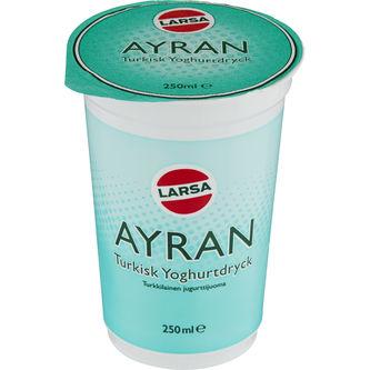 Ayran Turkisk Yoghurtdryck 250ml Larsa Foods