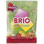 Brio Frukt Påse Malaco 80g