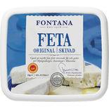 Fetaost Skivad Fontana 1kg