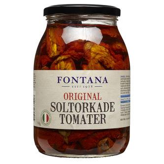 Soltorkade Tomater i Marinad 1kg Fontana