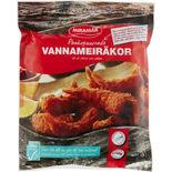 Vannameiräka Pankopanerad Fryst Miramar 400g