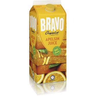 Apelsinjuice Drickfärdig Juice 2l Bravo
