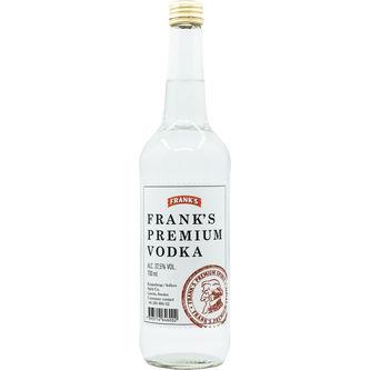 Frank´s Vodka 37.5% Sprit Eg 70cl Frank's