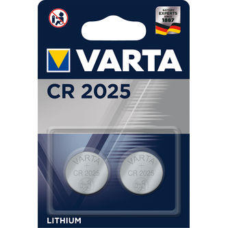 Cr2025 Batterier 2p Varta