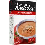 Tomatsoppa Mild 3% Kelda 500ml