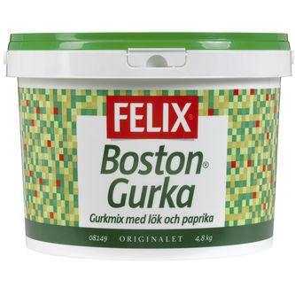 Bostongurka Gurkmix 4.8kg Felix