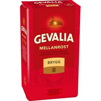Brygg Mellanrost Bryggkaffe 450g Gevalia