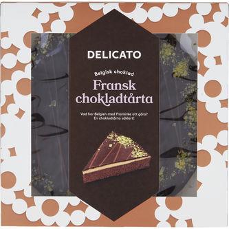 Chokladtårta Fransk 850g Delicato