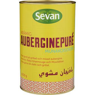 Puré Aubergine 4,2kg Sevan