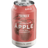 Äpple Mousserande Dryck Ciderkaraktär Burk Premier 33cl