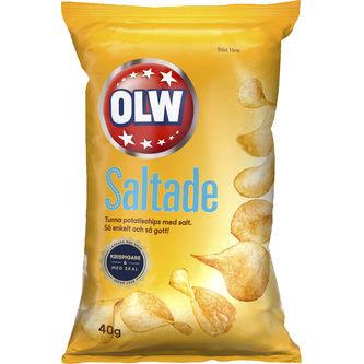 Lättsaltade Chips 40g Olw