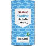 Tonfisk i Vatten 4-pack Eldorado 480/680g