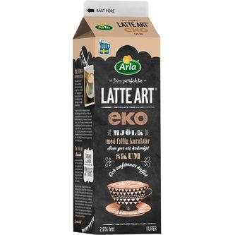 Latte Art 2,6% 1l Arla