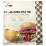 Hamburgerbröd Glutenfri Fryst Fria 280g