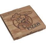 Pizzakartong 33x33x3.5cm Ack-pack 100p