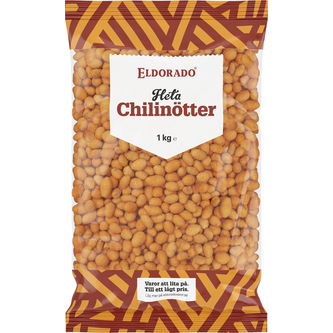 Chilinötter Jordnötter 1kg Eldorado