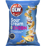 Sourcream Onion Chips Olw 175g