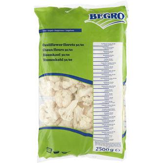 Blomkål 30/60 Iqf Fryst 2.5kg Begro