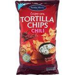 Tortilla Chips Chili Big Pack Santa Maria 475g