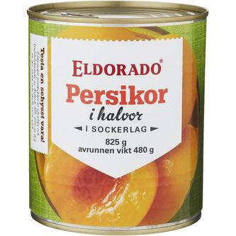 Persikor 825/465g Eldorado