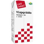 Grädde Visp 36% Red Label 1l