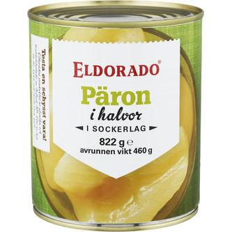 Päronhalvor 822/460g Eldorado