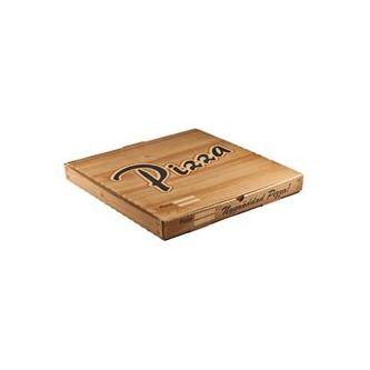 Pizzakartong 33x33x3.5cm 100p Ack-pack