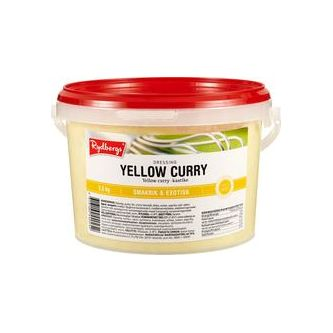 Dressing Yellow Curry 2.5kg Rydbergs