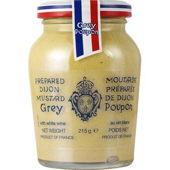 Dijonsenap Ljus 215g Grey Poupon